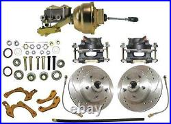 1955-58 Chevy Full Size Complete High Performance Disc Brake Conversion Kit