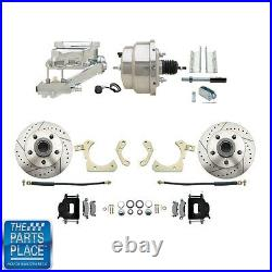 1955-58 GM Full Size Disc Brakes With 8 Dual Stainless Conversion Kit 315LXB