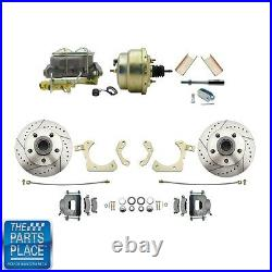 1955-58 GM Full Size Disc Brakes With 8 Dual Zinc Booster Conversion Kit #204LX