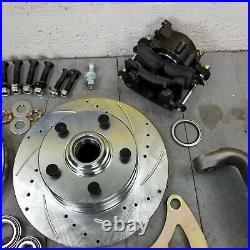 1965-1970 Chevy Full Size Big Brake Conversion Kit with Control Arms 5x4.75 SB V8