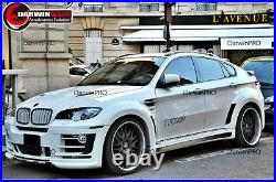 2008-2014 BMW X6 E71 HM-2 Style Full Wide Body Kit Conversion With Exhaust