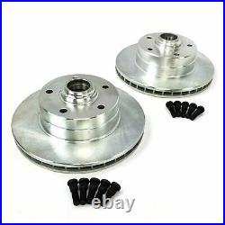 58-64 Chevy Full Size Big Brake Conversion Kit 5x4.75 with 2 Drop Spindles Impala