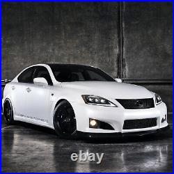 AMBER FULL LED Headlights for 2008-2014 Lexus IS F Front Lights Assembly