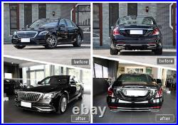 Aftermarket W222 Maybach Style 560 Conversion Full Body Kit S63 2018+