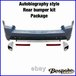 Autobiography Style Rear Bumper Full Conversion Kit For Range Rover Sport 10-13