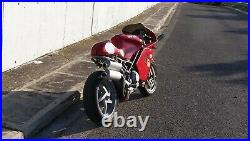 Ducati ST Cafe-Racer Full Fairing Conversion/Modification Kit Test Fitted