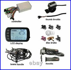 E-Tech 800with48v Brushless Gearless 10in Ebike Scooter Conversion Kit Hub Motor