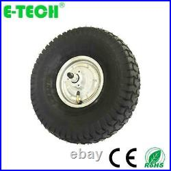 E-Tech 800with48v Brushless Gearless 15in Ebike Scooter Conversion Kit Hub Motor