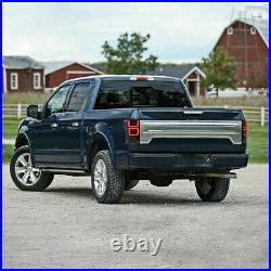 FULL LED SMOKED Taillights with RED Turn Sig for 15-20 FORD F-150 All Trims 2 Gen