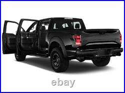 For 17-20 F-150 Raptor Red Clear Full LED Fiber Optic Tron Style Taillights