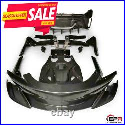 For Mclaren 570s To 600LT Carbon Fiber Full Conversion Kit(without P1 Type Hood)