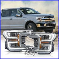Free Shipping to PR For 18-20 Ford F150 Full LED Reflector Sequential Headlights