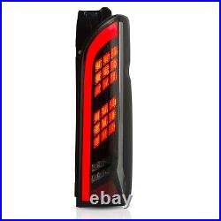Free Shipping to PR for 05-18 Hiace SMOKE Full LED Sequential Taillights