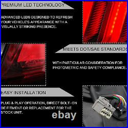 Free Shipping to PR for 15-20 Mustang SMOKE FULL LED Taillights Sequential Turn