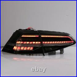 Free Shipping to PR for 16-17 Golf MK7 / GTI HATCHBACK FULL LED SMOKE Taillight
