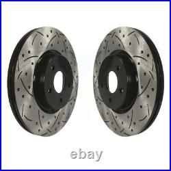 Front Drill Slot Brake Rotor Set Ford Escape Focus Transit Connect Volvo S40 MKC