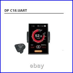 Full Color LCD Display DP C18. UART For 8FUN BBS01 BBS02 BBSHD electric bicycle