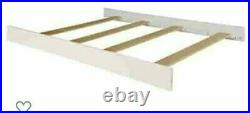 Full size Conversion Kit Bed rails for sorelle Crib withchanger combos