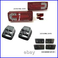 G63 Full Conversion Body Kit Bumpers Flares tips tail lights lower lip logo g500