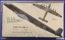 Junkers JU 390 (Classic Planes 1/72) Conversation withRevell Ju290 FULL KIT