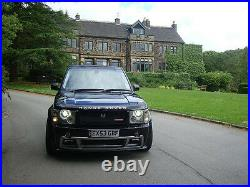 Range Rover Vogue Wide Full Body Kit L322 Conversion Tuning