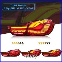 VLAND GTS OLED STYLE FULL LED RED Tail Lights For 14-20 BMW F32 F33 F36 F82 F83