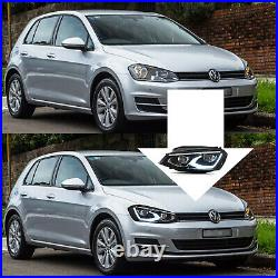 Vland MK8 Style Full LED Headlights With Start-up Animation for 15-17 Golf MK7