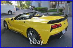 Z06 Stage 3 CARBON FLASH Full Body Kit With SMOKE WickerBill For 14-19 Corvette C7